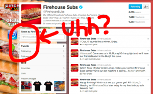 Firehouse Subs QR Codes on Twitter